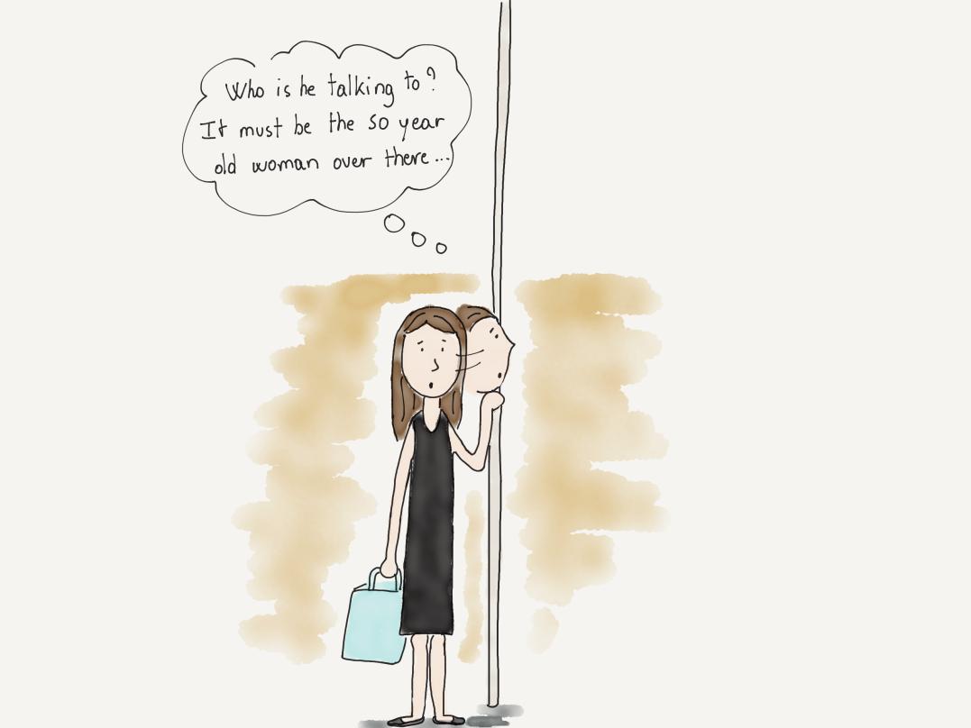 Dans Le metro ENG 2