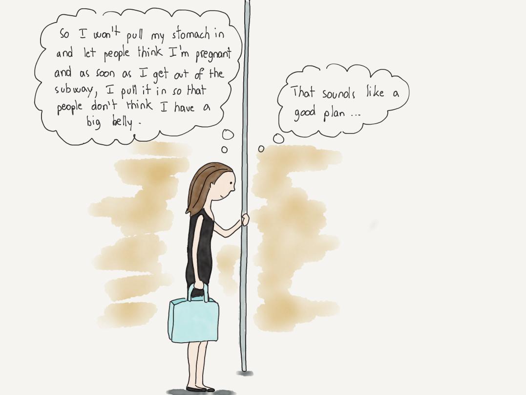 Dans Le metro ENG 8