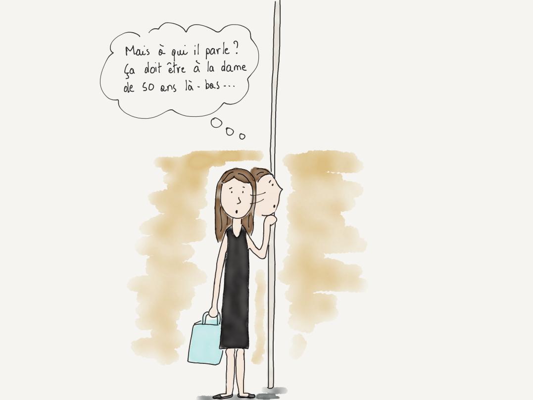 Dans Le metro FRE 2