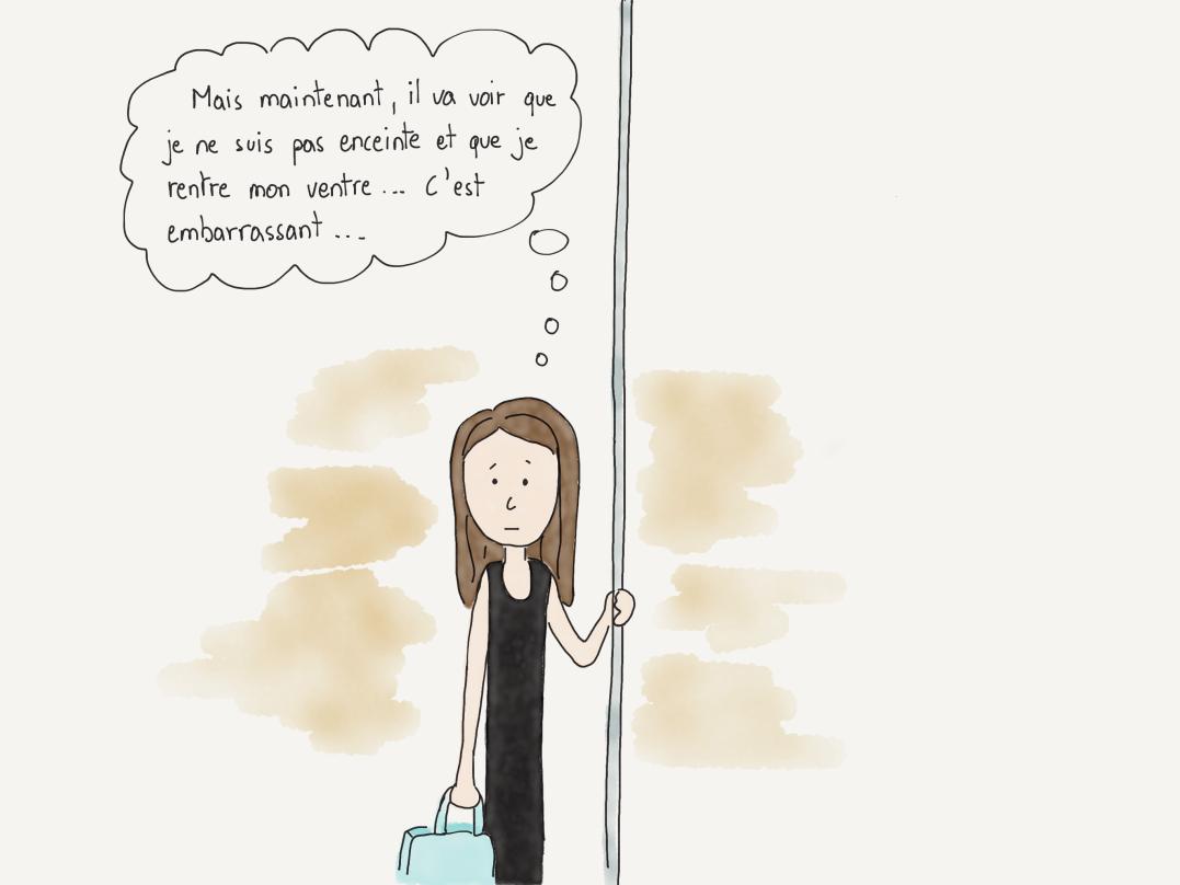 Dans Le metro FRE 7