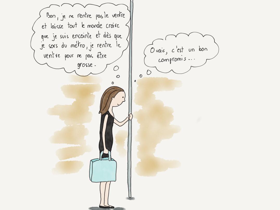 Dans Le metro FRE 8